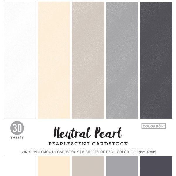 Colorbök Smooth Cardstock 12x12 Neutral