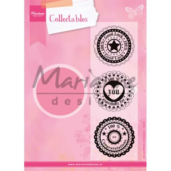 Marianne D Collectables Circle Die & Sentiments