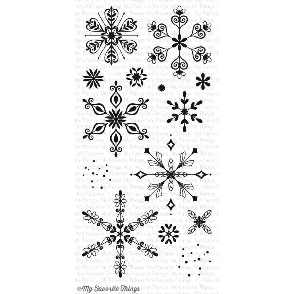 MFT Clearstamps Simply Snowflakes