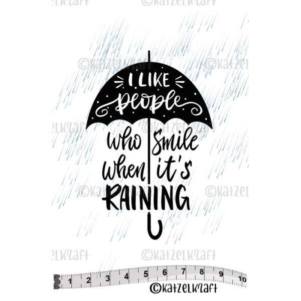 Katzelkraft Tampon SOLO Smile when it´s Raining