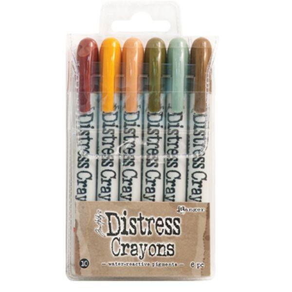 Tim Holtz Distress Crayons Set 10