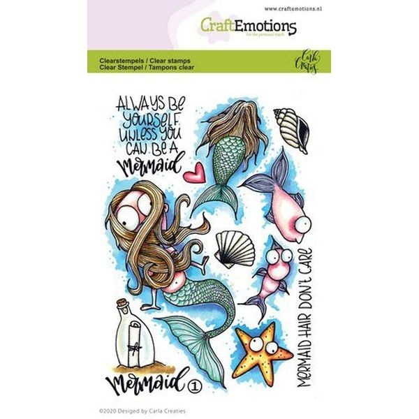 Craft Emotions Clearstamps Mermaid No. 1