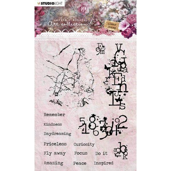 Studio Light Jenine´s Mindful Art 3.0 Clearstamps A6 No. 09