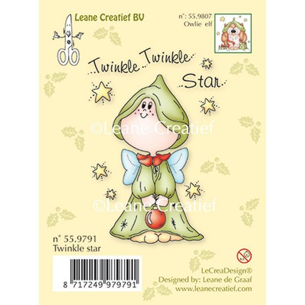 LeaCreadesign Clearstamp Twinkle Star