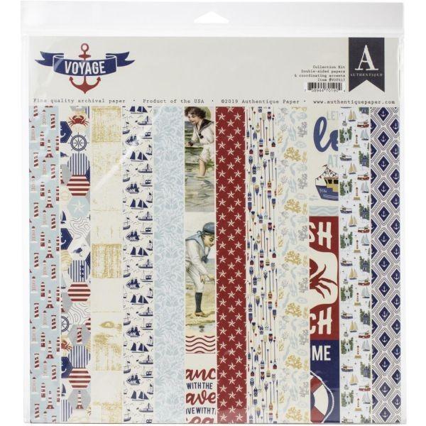 Authentique Voyage Collection Kit 12x12