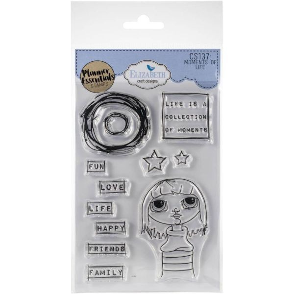 Elisabeth Craft Designs Clearstamps Moments of Life