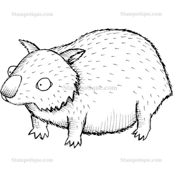 Stampotique Originals Wombat