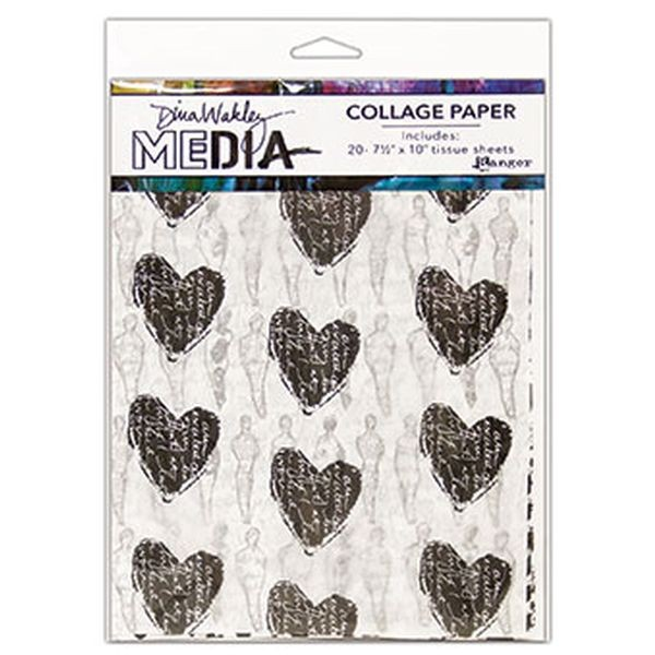 Dina Wakley Collage Paper