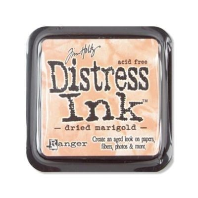 Distress Ink Mini Pad Dried Mariegold