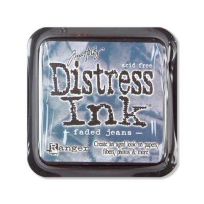 Distress Ink Mini Pad Faded Jeans