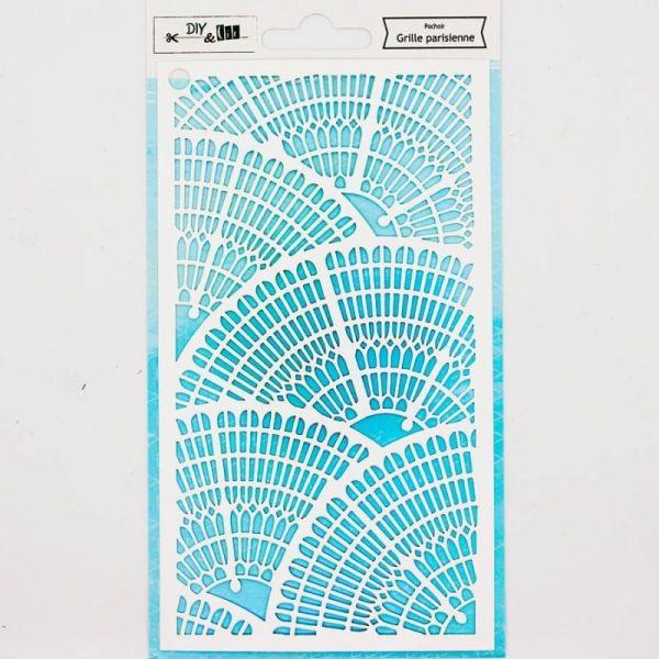 DIY & Cie Stencil Grille Parisienne
