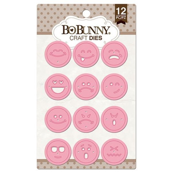BoBunny Press Craft Dies Emoji