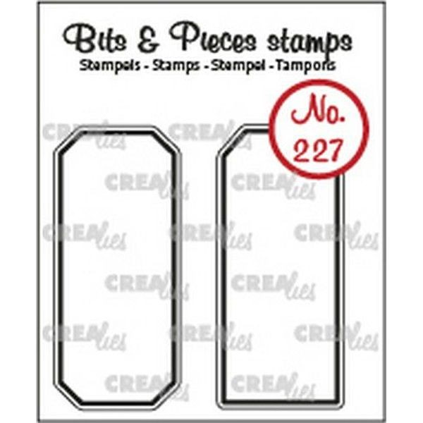 CreaLies Bits & Pieces Clearstamps No. 227 Labels