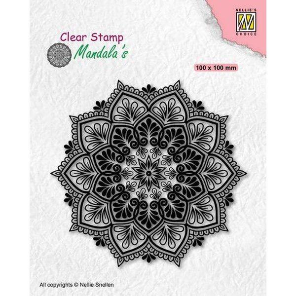 Nellie´s Choice Clearstamp Mandala´s Starflower