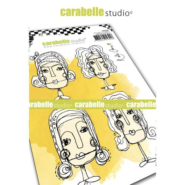 Carabelle Studio Tampon Art Stamp A6 Face it