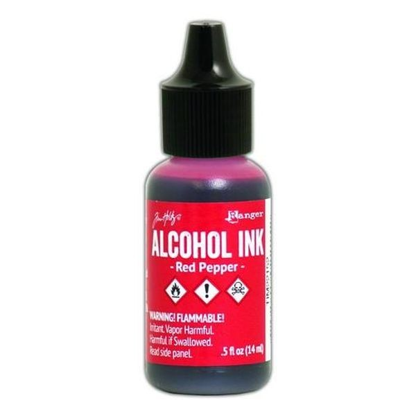 Tim Holtz Alcohol Ink Red Pepper