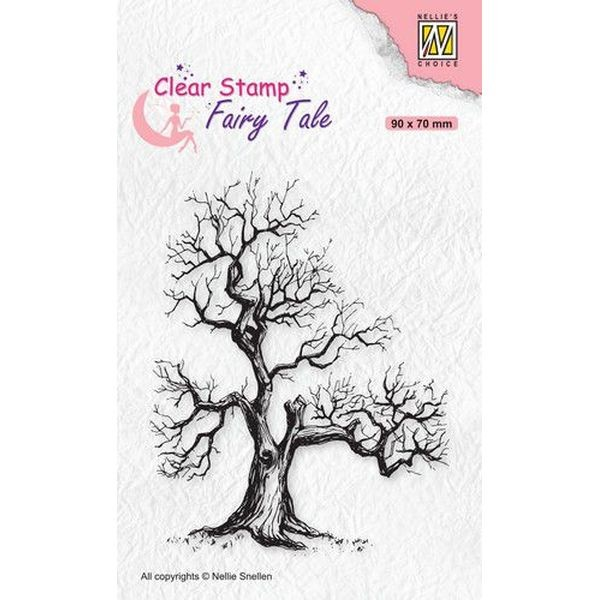 Nellie´s Choice Clearstamp Silhouette Fairy Tale - Tree