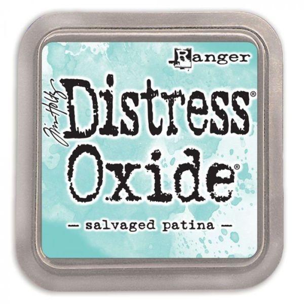 Tim Holtz Distress Oxide Pad Salvaged Patina