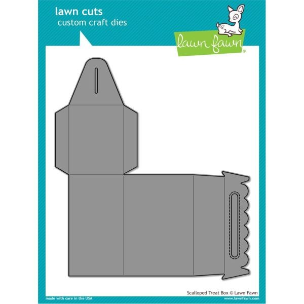 Lawn Fawn Cuts Scalloped Treat Box