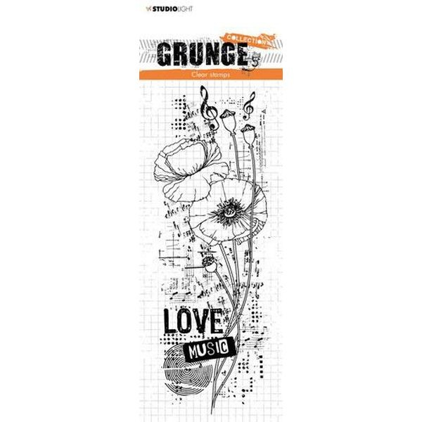 Studio Light Clearstamps Grunge Collection No. 404