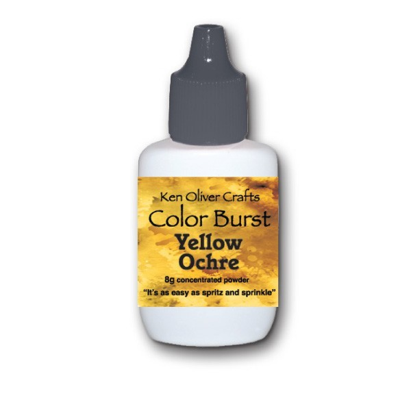 Ken Oliver Crafts Color Burst Yellow Ochre