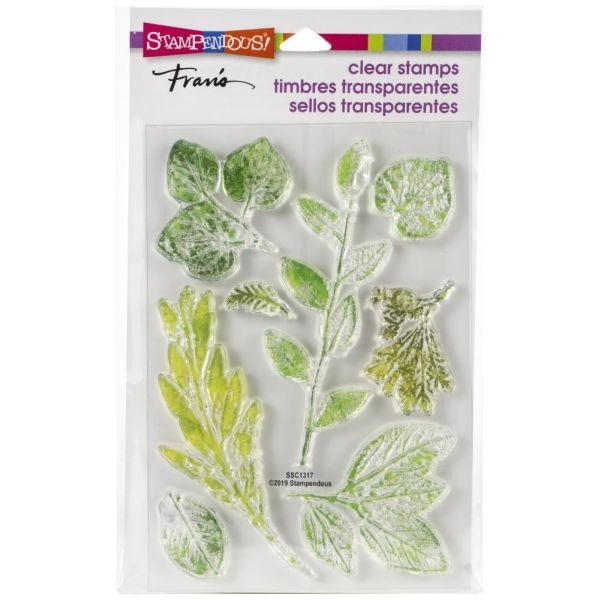 Stampendous Clearstamps Leafy Imprint