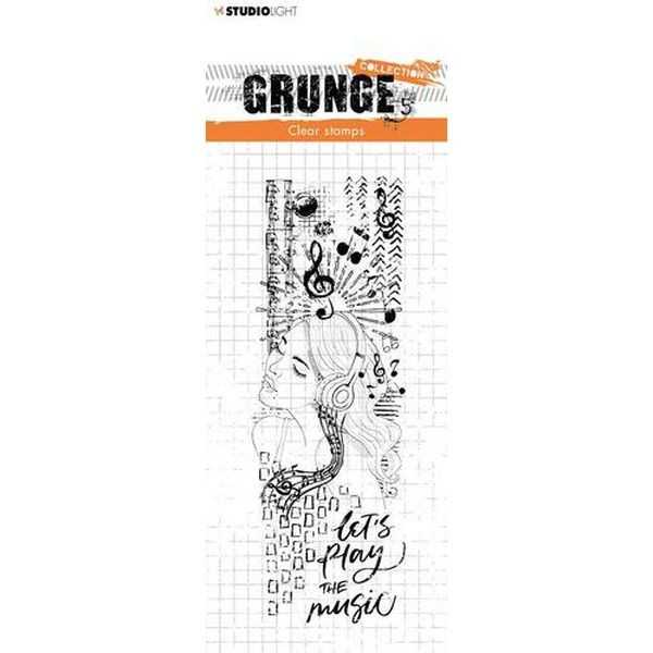 Studio Light Grunge Collection Clearstamps No. 498
