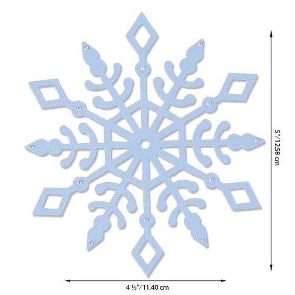 Sizzix Bigz Snow Crystal