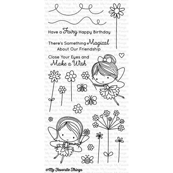 MFT Bundle Clearstamps & Dies Fairy Happy