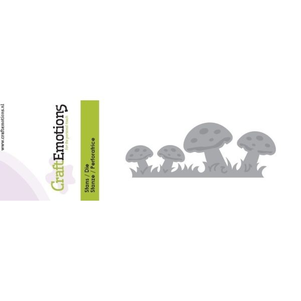 Craft Emotions Dies Edge Mushrooms