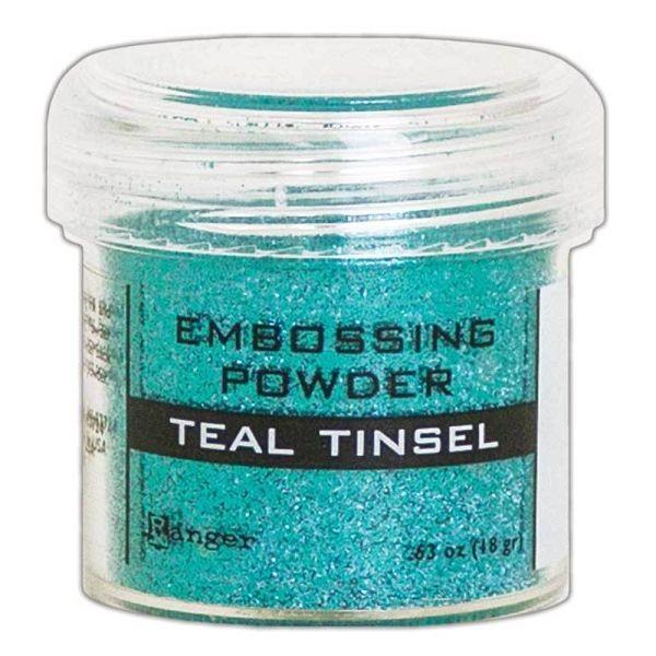 Ranger Tinsels Embossingpowder Teal