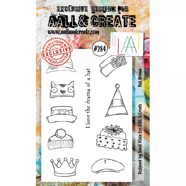 AALL & Create Clearstamps A6 No. 284 Hat Drama