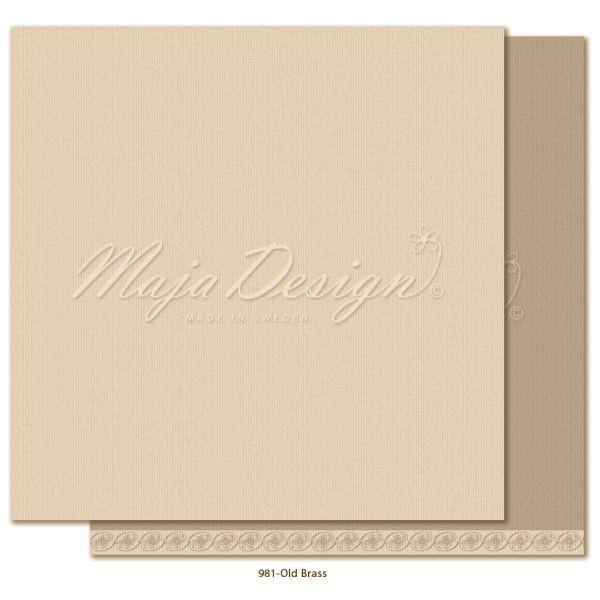 Maja Design Monochromes Shades of Celebration Old Brass