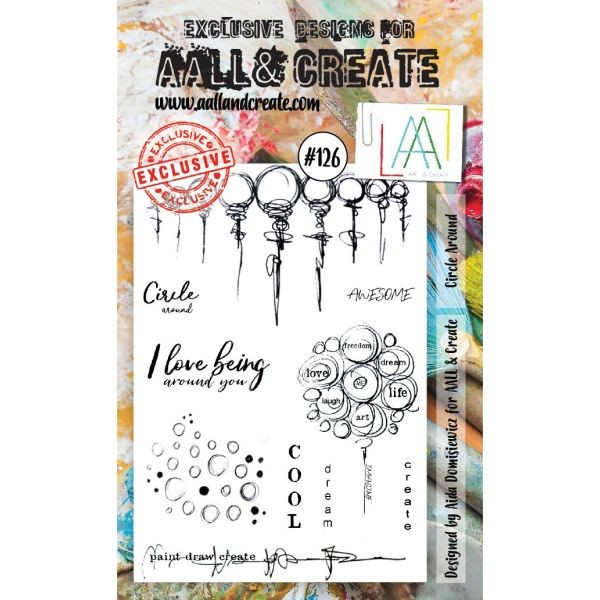 AALL & Create Clearstamps No. 126