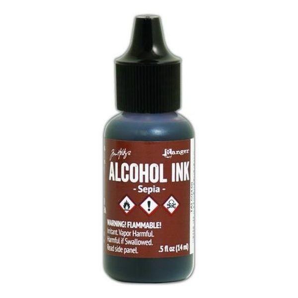 Tim Holtz Alcohol Ink Sepia