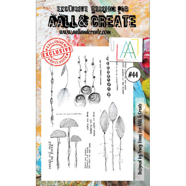AALL & Create Clearstamps No. 44