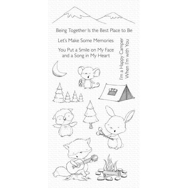 MFT Bundle Clearstamps & Dies Happy Campers