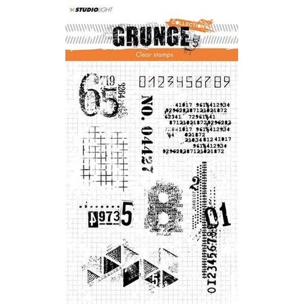 Studio Light Clearstamps Grunge Collection No. 340