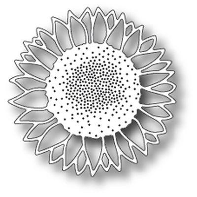 Memory Box Die Wild Sunflower