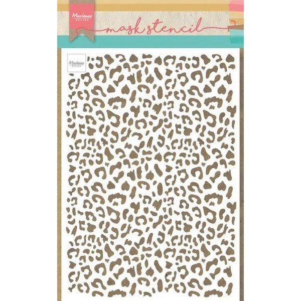 Marianne D Mask Stencil Leopard