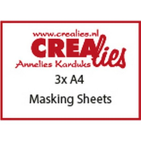CreaLies Basics Masking Sheets 3x A4