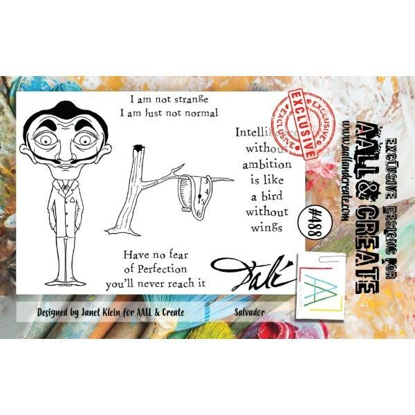 AALL & Create Clearstamps A7 No. 488 Salvador