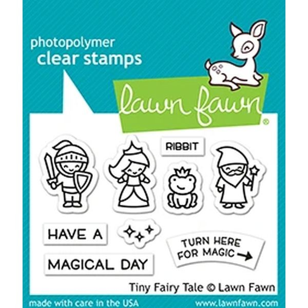 Lawn Fawn Clearstamps 2x3 Tiny Fairy Tale