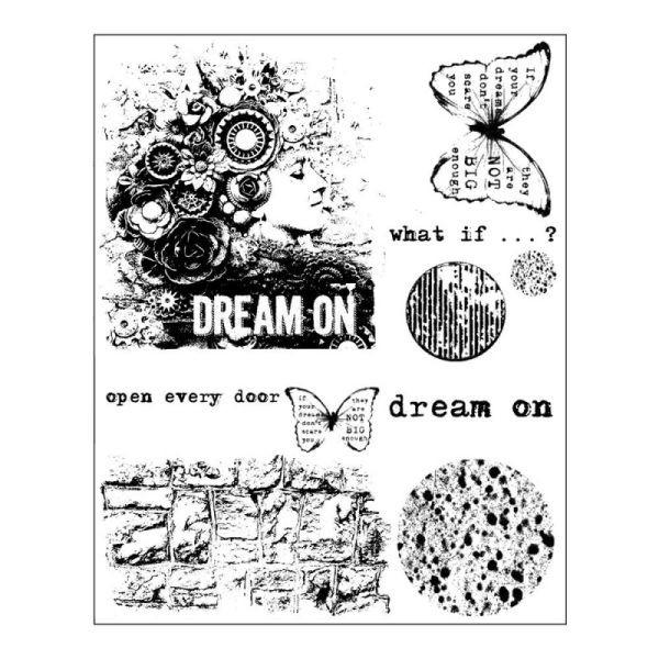 Finnabair Clingstamps Dream on