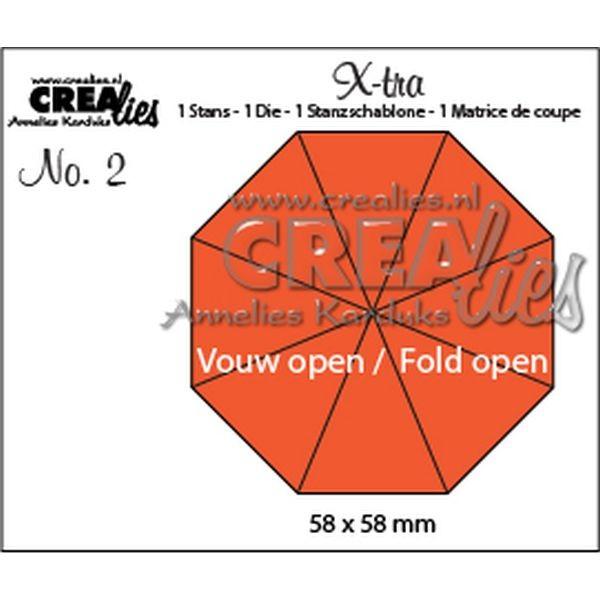 CreaLies X-tra No. 02 Fold Open Octagon