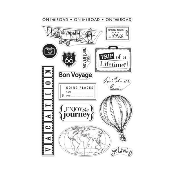 Hero Arts Clear Stamps 4x6 Travel