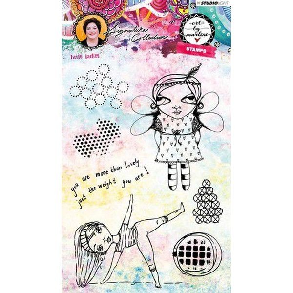 Studio Light Clearstamps A5 Girlie Style No.38