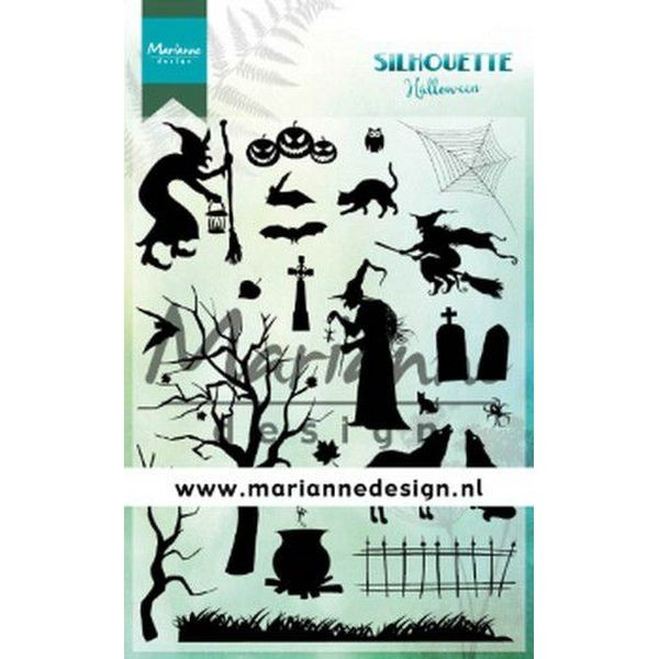 Marianne D Clearstamps Silhouette Halloween