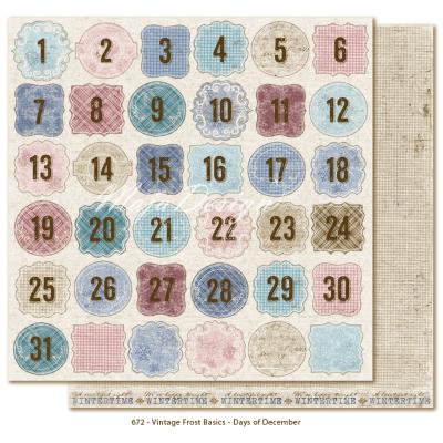 Maja Design Vintage Frost Basics Days of December