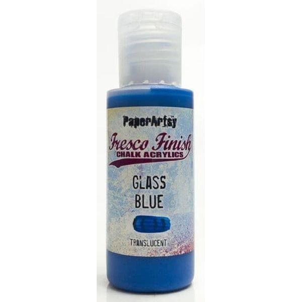 Fresco Finish 05 Bright Clean Blues Glass Blue - Translucent